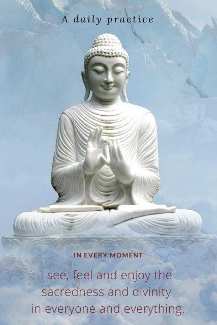 always feel the divinity